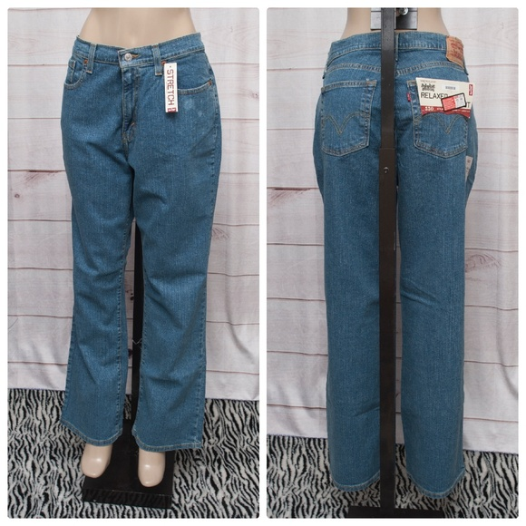 5799306b50f LEVI S 550 Relaxed Stretch Boot Cut 16 Jeans